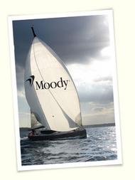 Moody Yacht